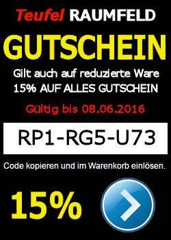 RP1-RG5-U73 – GUTSCHEIN – 15% AUF ALLE TEUFEL & RAUMFELD-PRODUKTE http://www.m.lautsprecher-shop.com/teufel-gutschein/rp1-rg5-u73-gutschein-15-auf-alle-teufel-raumfeld-produkte/