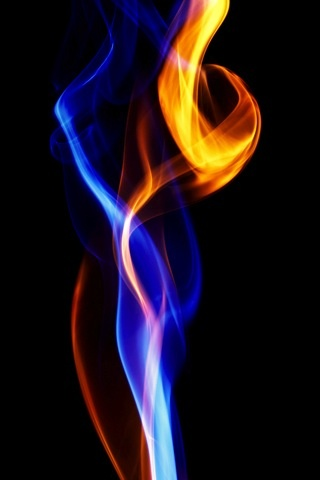 Shiva Shakti Flame Entwined