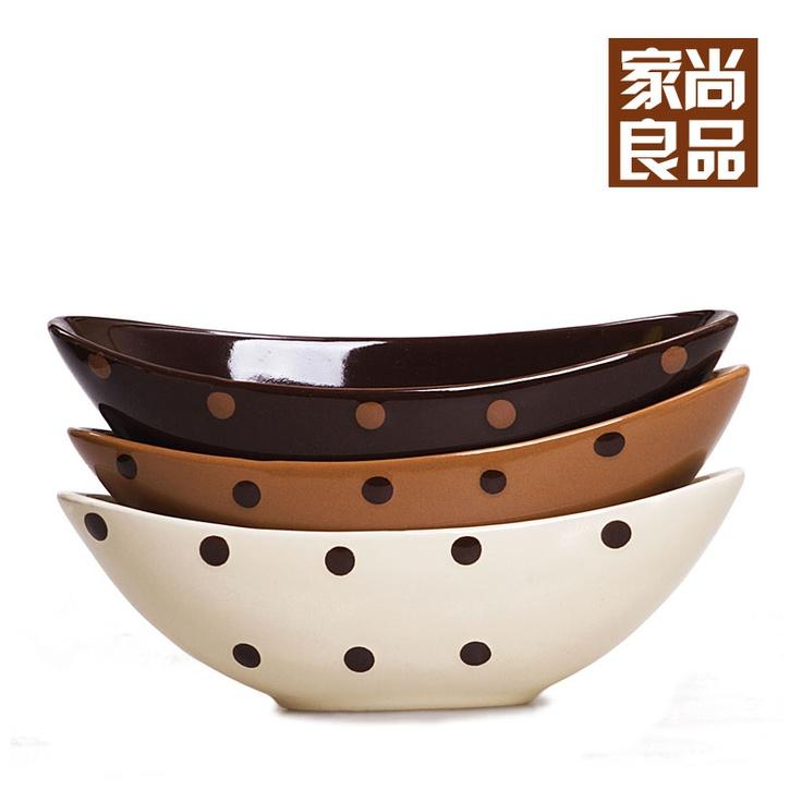 Русский Таобао - Фрукты чаши керамические коричневый - 9.74