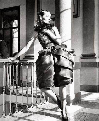 Elegant Fashion Photo By Regina Relang I Love The Modern Architecture Of Skirt On This Party Dress