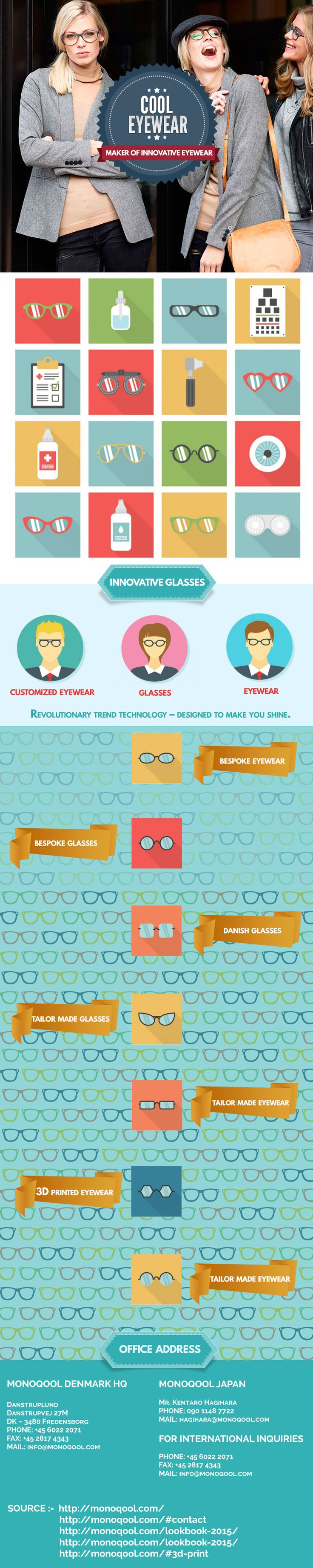 Try these new and attractive innovative glasses at affordable or you can say at suitable price.large collection of glasses with different color.we also offer Innovative Eyewear,Cool Glasses,cool eyewear,danish eyewear,danish glasses etc.