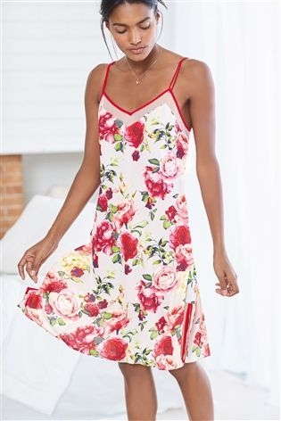 Buy Pink Floral Slip from the Next UK online shop