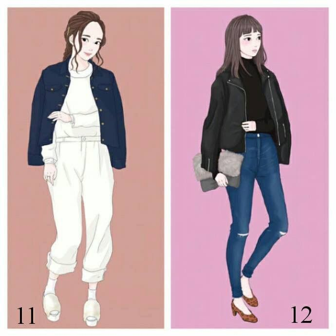 Fun Fun Korean Fashion Kpop Inspired Outfits Fashion Sketches Fashion Design Sketches