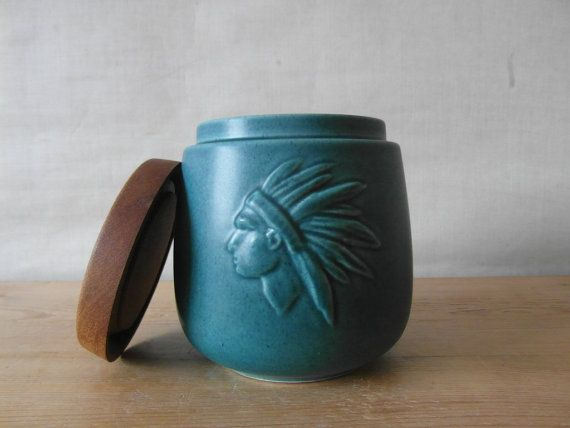 Søholm Denmark tobacco jar with lid TOBAK humidor by danishmood, kr380.00