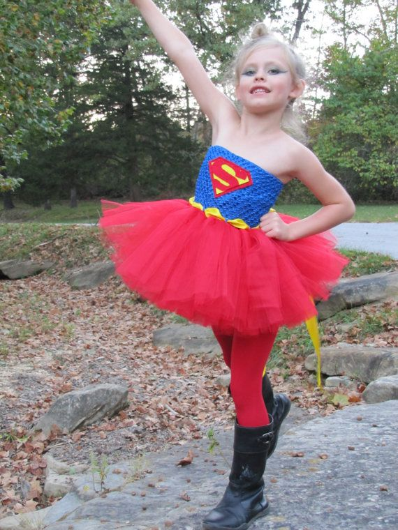 Sample sale 3-5T only Superhero tutu costume by TheCreatorsTouch
