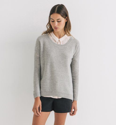 Pull moelleux Femme