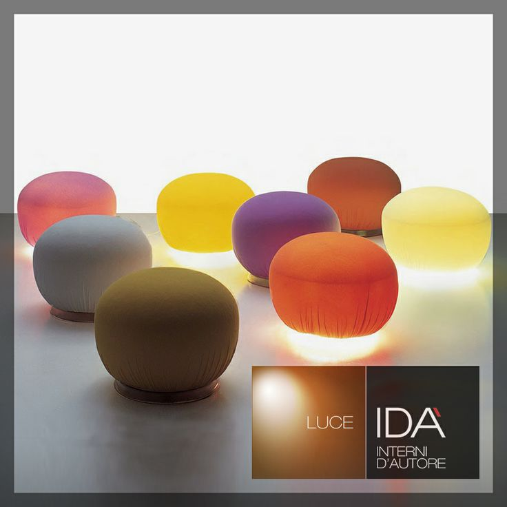 Pouf Luminosi  Design /Interior design/ Salerno