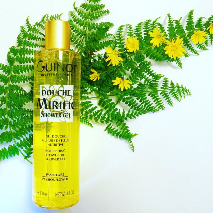 Douche Mirific shower gel with passionflower oil £15 at Beauty Culture