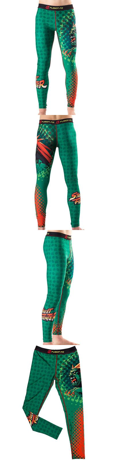 Pants 179772: Fusion Fight Gear Street Fighter Blanka Spats - Large - Green -> BUY IT NOW ONLY: $59.95 on eBay!