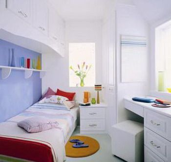 Bedroom for Kids - For Small Spaces