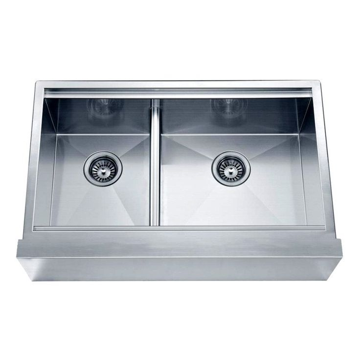 Dawn 33 Undermount Double Bowl with Straight