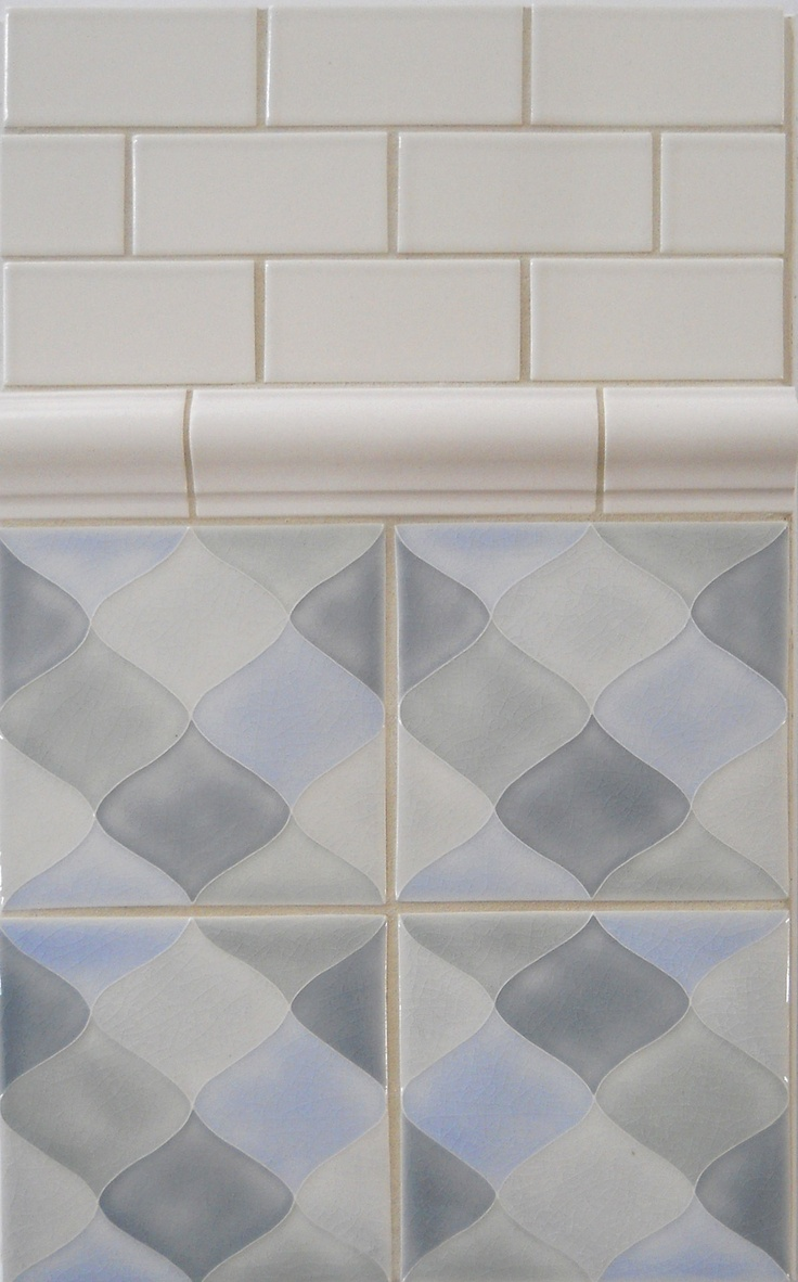 164 best tiles bathroom images on pinterest bathroom modern ceramic tile pratt larson motif pattern b dailygadgetfo Image collections