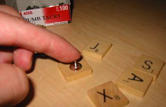 Make a Scrabble bulletin board for student names?