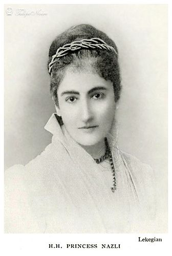 H.H. Princess Nazli Fadel In 1890's (1853–1913), Granddaughter Of Ibrahim Pasha | by Tulipe Noire