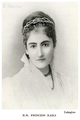 H.H. Princess Nazli Fadel In 1890's (1853–1913), Granddaughter Of Ibrahim Pasha | by Tulipe Noire