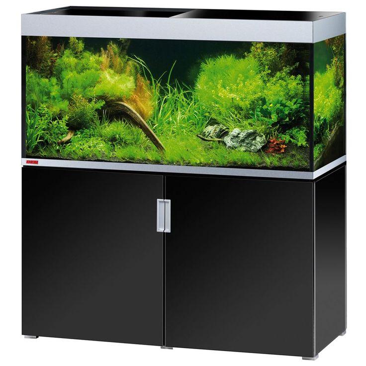 Animalerie  Ensemble aquarium/sous-meuble EHEIM incpiria 400  blanc brillant