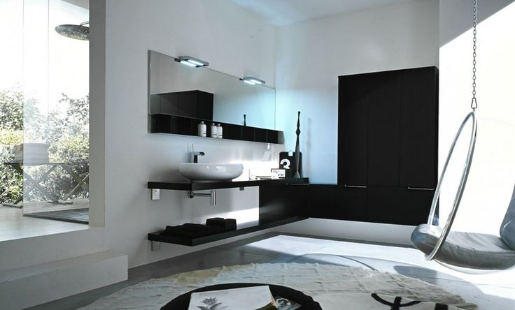 45 modern bathrooms by cerasa home pinterest - Badezimmer 50er ...