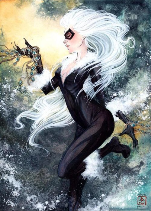 Black Cat - Mike McKone
