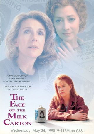 Movie Poster for The Face on the Milk Carton | http://www.carolinebcooneybooks.com