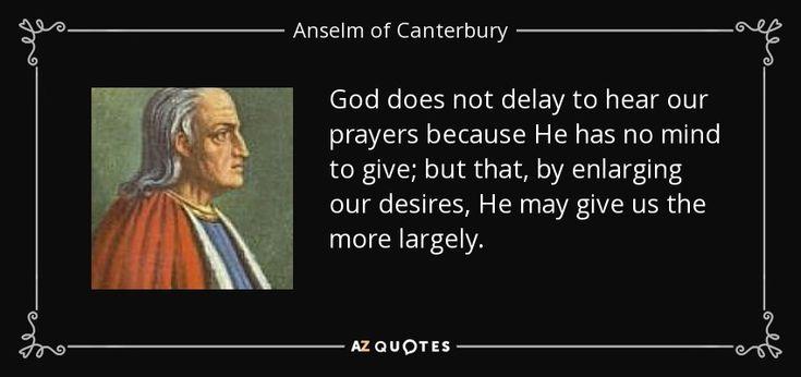 Anselm of Canterbury Quotes | Anselm of Canterbury Quotes. QuotesGram