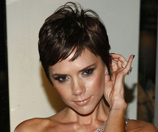 Victoria Beckham was all over fashion blogs when she debuted this cropped look at Marc Jacobs show.