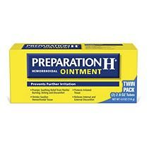 Preparation H Ointment Twin Pack (4 oz.)