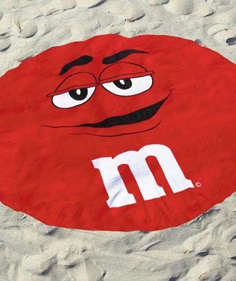 M Beach Towel M Amp M S Pinterest Red Rugs Beach Towel