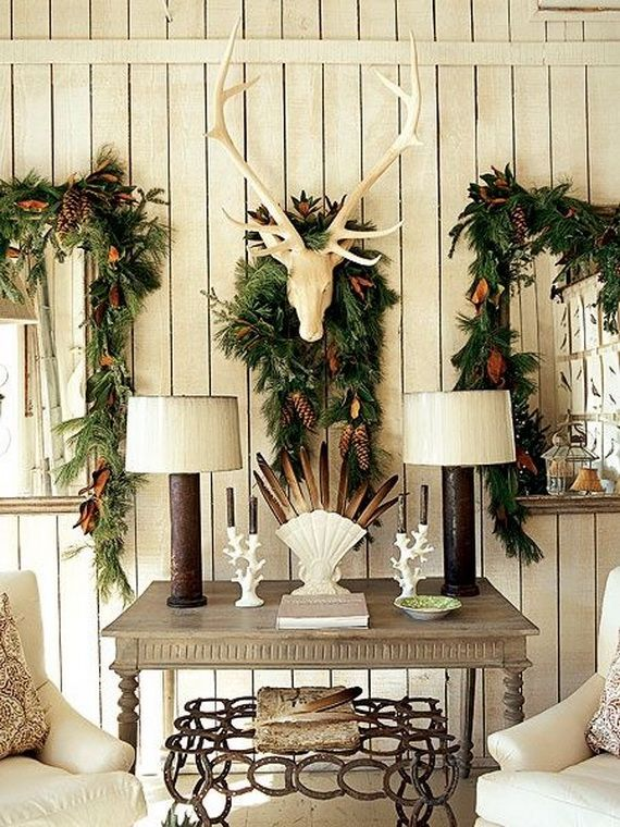 Lovely Country Christmas Decorating Ideas Home | Christmas These 60 Elegant Christmas  Country Living Room Decor Ideas Design Inspirations