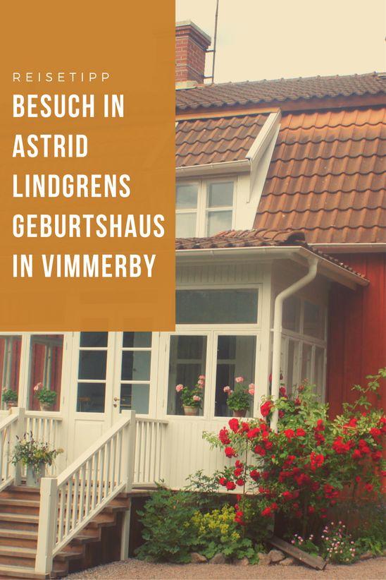 Astrid Lindgrens Elternhaus in Vimmerby, Smaland, lohnt eine Reise. Das ganze Gelände der Astrid lindgren Näs ist weit mehr als ein Museum und typisch für Schweden.