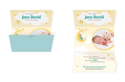 Geburtskarte Jens