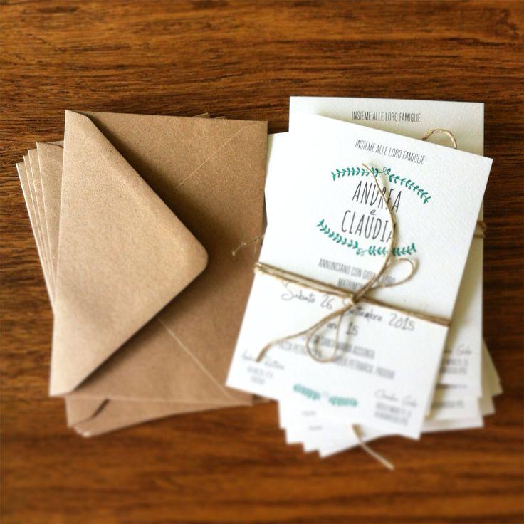 Partecipazioni Matrimonio In Juta : Best images about we love partecipazioni di matrimonio