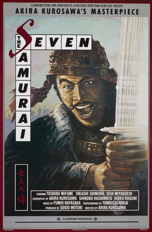 Watch Seven Samurai (1954) Full Movie Online Free