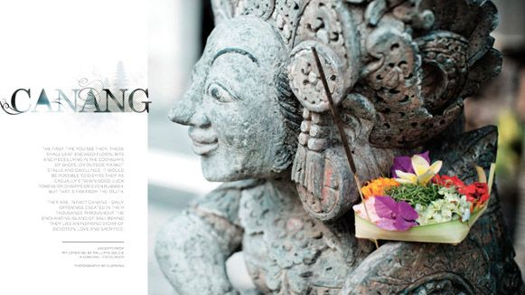 Balinese Culture : Canang or Offering