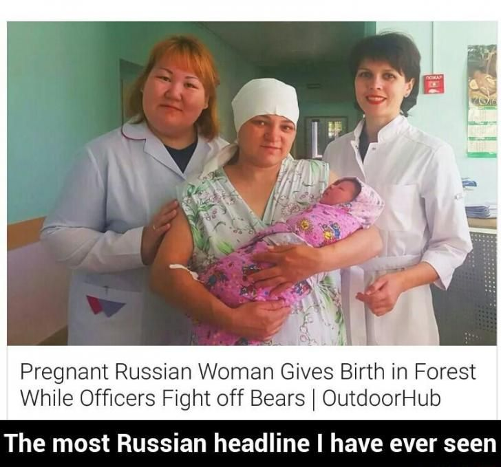 The most Russian headline I have ever seen