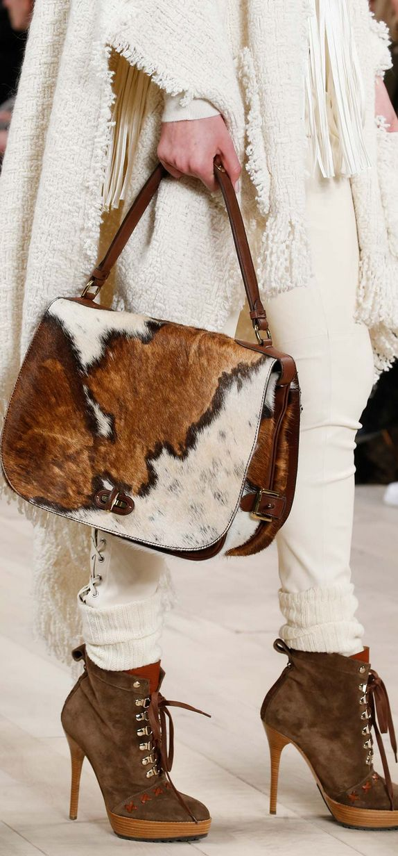 Rustic meets refined: Fall 2015 Ralph Lauren Collection Accessories
