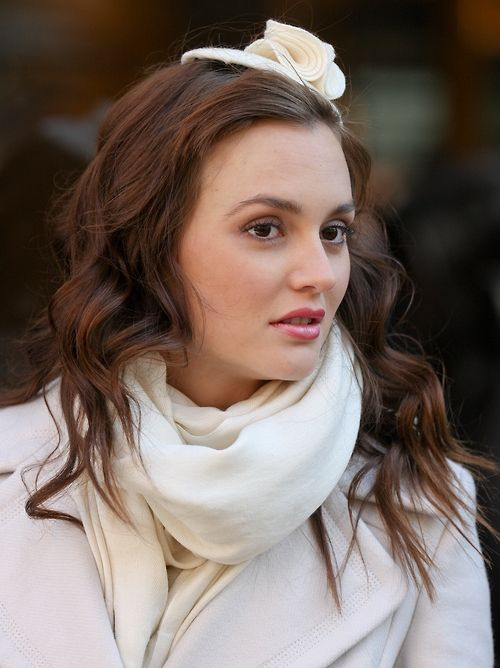 Blair Waldorf's tiny, tiny hat