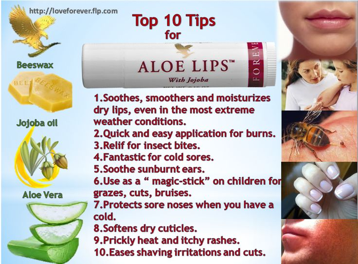 Aloe Lips with Jojoba is a 'magic stick' ! Use Aloe Lips regularly to moisturize lips, especially in bad weather conditions. Aloe Lips can be used as first aid against cuts, bruises, mild burns and insect bites. If your lips could talk, they'd ask for Forever Aloe Lips™! Order at http://loveforever.flp.com