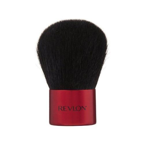Revlon Brush revlon kabuki brocha Brocha kabuki Revlon, Diseño redondeado perfecto para seguir el contorno de la mejilla para una mirada naturalmente.