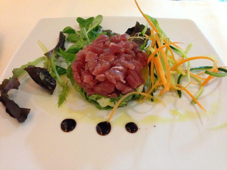 Tartara di tonno e finocchio//tuna tartar and fennel