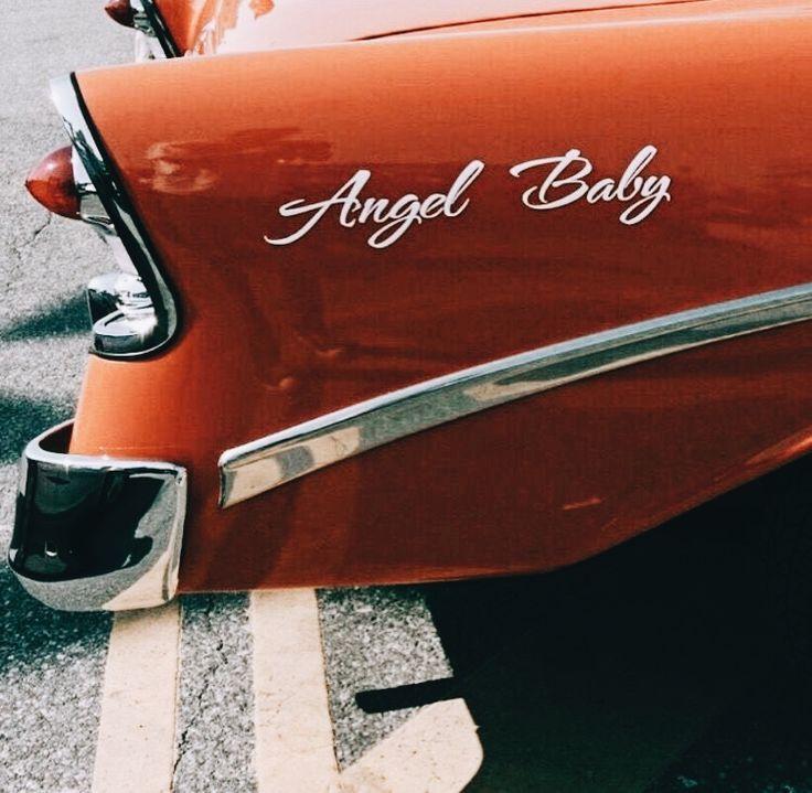 vintage cars, angel baby