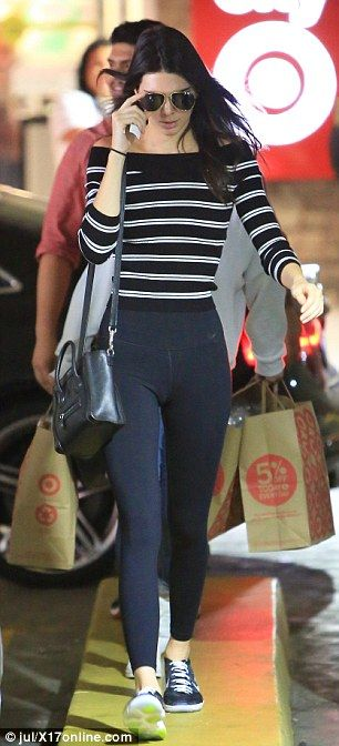 Kendall Jenner goes bargain shopping at Target... as Vogue declares that she and Gigi Hadid are officially 'supermodels' | Daily Mail Online