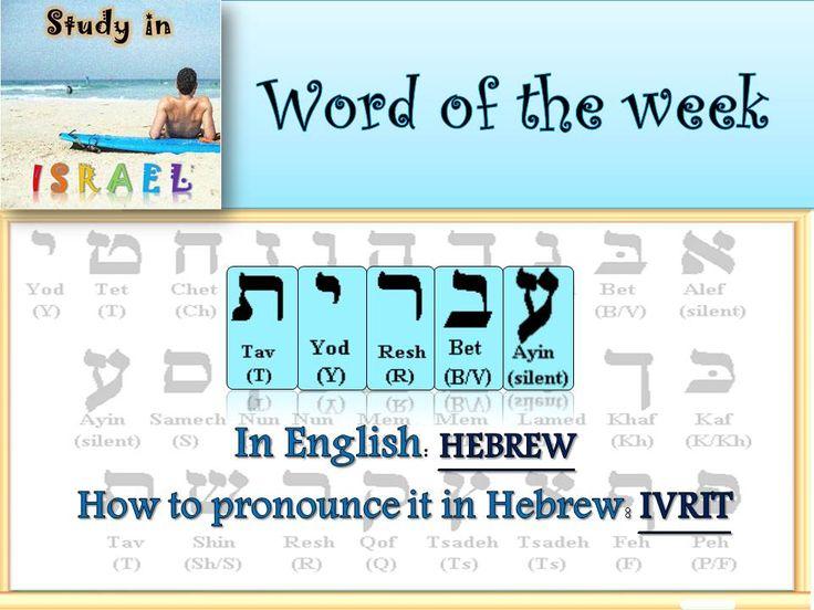 Study law in israel english