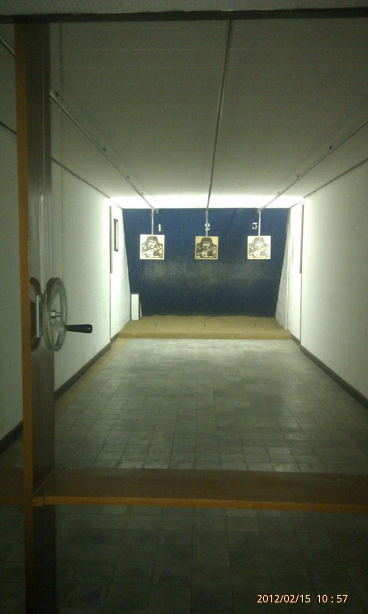 Shooting range within the Reunification Palace, Ho Chi Minh City.
