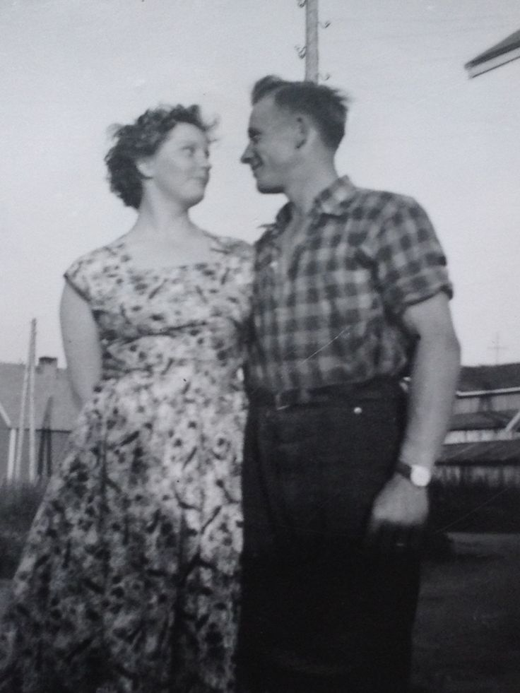 My parents in 1957.