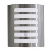 Lancelot Wall Sconce With Sensor In Stainless Steel