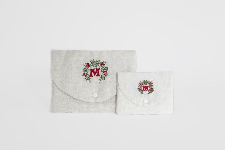 MarinaC - Xmas monogram on....whatever you like! - shop.marinac.it #marinacmilano