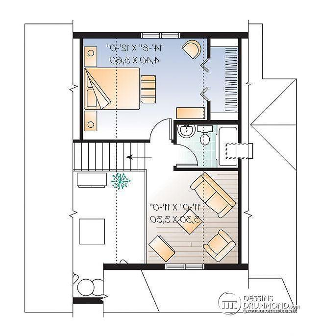 Beliebt Les 25 meilleures idées de la catégorie Plans étage chambre sur  PC38