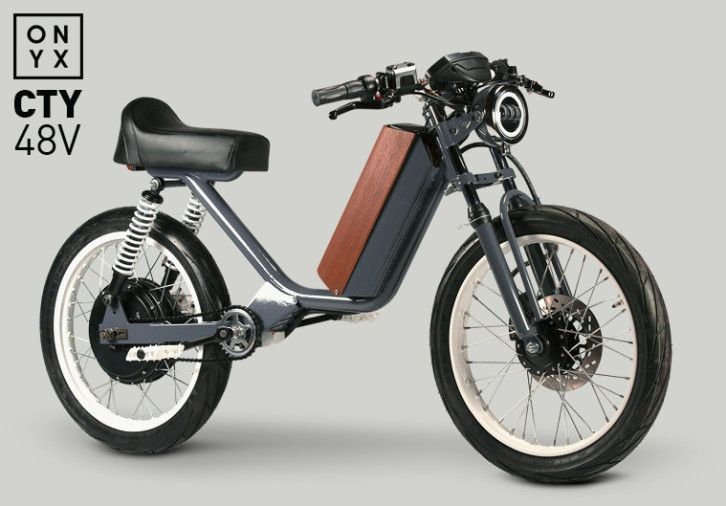 Onyx Motorbikes Mopeds Are Back Now Electric Indiegogo Electric Moped Moped Electric Bike