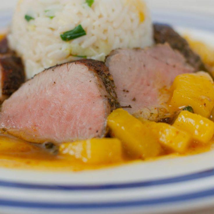 Polędwica w sosie curry przepis - zjem to blog kulinarny