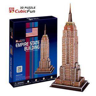 Кэндис го! 3d-головоломка игрушка CubicFun 3D бумажная модель головоломки игра эмпайр стейт билдинг